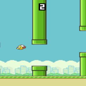 Flappy Bird Usando Espaço