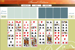 freecell solitaire games