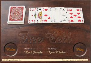 juegos de solitario carta blanca
