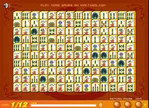 solitario chino mahjong titans