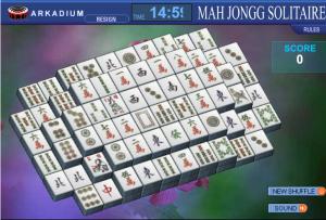 solitario chino mahjong