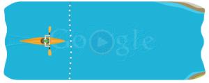 Jogo do Google de Canoagem / Remo