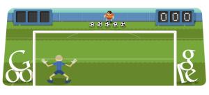 Jogo do Google de Futebol