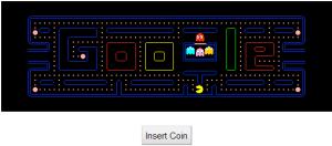 Jogo do Google PacMan