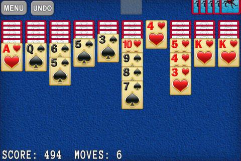 Mesa do jogo para iPhone