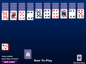juego solitario cartas